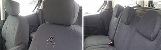 Чехлы в салон модельные Citroen Berlingo 2002-08 г (EMC-Elegant)