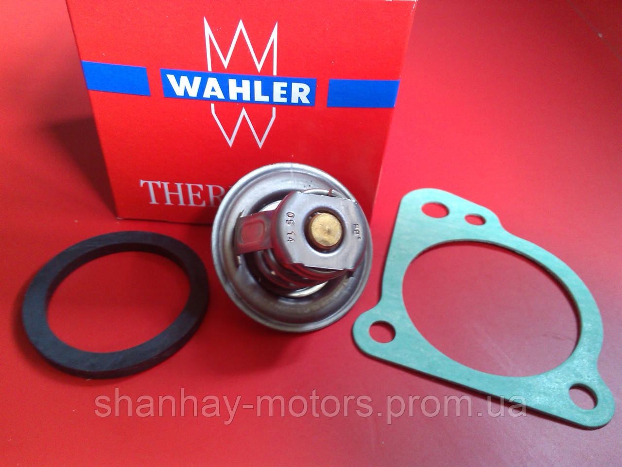 Термостат (с прокладками) Chery Amulet Чери Амулет  480-1306020 WAHLER  Германия - Шанхай-моторс в Одессе