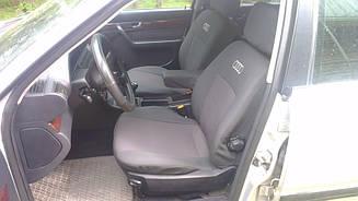 Чехлы в салон для Audi А-4 (B5) (деленный) с 1994-2000 г (модельные) (EMC-Elegant)