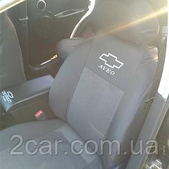 Чехлы в салон модельные Chevrolet Lacetti Hatchback с 2004 г (EMC-Elegant)