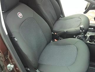 Чехлы в салон модельные Fiat Doblo Panorama (1+1) с 2000-09 г (EMC-Elegant)