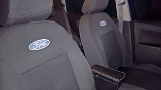 Чехлы в салон модельные Ford Connect c 2002-09 г (EMC-Elegant)