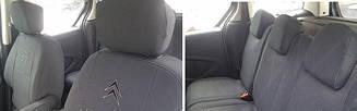Чехлы в салон модельные Citroen Berlingo (1+1) 2002-08 г (EMC-Elegant)