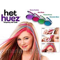 Цветные мелки для волос  Hot Huez (Хот Хьюз), фото 3