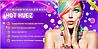 Цветные мелки для волос  Hot Huez (Хот Хьюз), фото 4