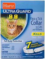 О80483 Hartz UltraGuard Flea&Tick Ошейник для кошек и котят белый, 35 см