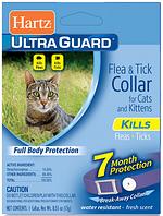 90745 Hartz UltraGuard Flea&Tick Ошейник для кошек и котят пурпурный, 35 см
