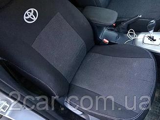 Чехлы в салон для Toyota Hilux с 2015 г (модельные) (EMC-Elegant)