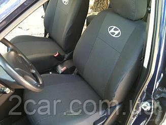 Чехлы в салон модельные Hyundai Accent NEW 1/3 2011- (Prestige_Premium)