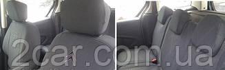 Чехлы в салон модельные Citroen Berlingo (1+1) 2008 г (EMC-Elegant)