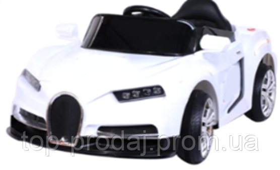 Электромобиль T-7635 WHITE легковая на Bluetooth 2.4G Р/Ус MP3, Детская машина аккумуляторная, Электрокар