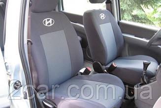 Чехлы в салон модельные Hyundai Accent NEW 2011- (Prestige_Premium)