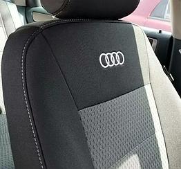 Чехлы в салон для Audi А-6 (C6) c 2005-11 г (модельные) (EMC-Elegant)