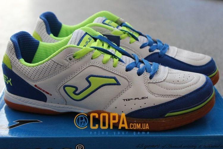 Кожаные футзалки (бампы) Joma Top Flex S 405 PS - TOPS.405.PS, фото 1