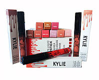 Набор жидких матовых помад Kylie (Кайли Дженнер), 12 штук, Скидки
