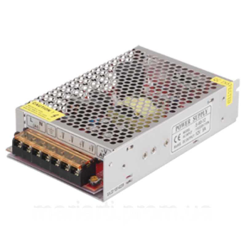 Импульсный блок питания Адаптер 12V 50A METAL