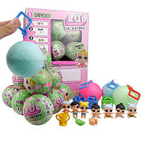 Кукла - сюрприз ЛОЛ - Европейская версия! Кукла LOL Mini в шаре 6 см, Мини Кукла LQL в шарике, Куколка, Акция