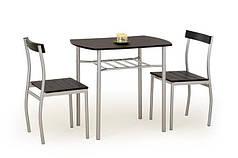Комплект столовый Lance 82/50(венге)  (Halmar)