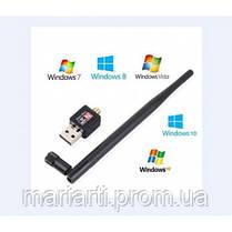 Антенна WIFI USB 802.1 IN WF-2 , беспроводной Wi-Fi USB адаптер, Новинка, фото 2