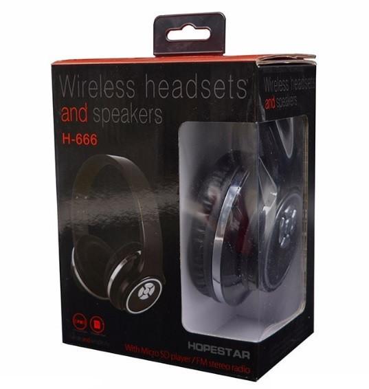 Наушники Bluetooth HOPESTAR H666