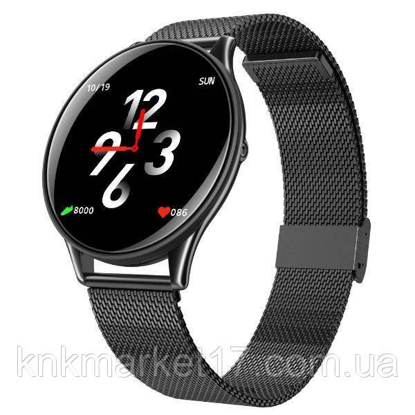 UWatch Розумні годинник Smart E19 Black