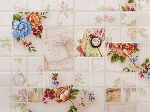 Обои на стену, влагостойкие, бумажные,прогулка8026-02, 0,53*10м, фото 2
