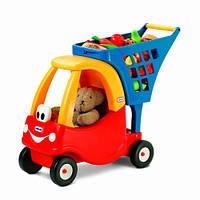 Little Tikes Детская тележка каталка для игрушек