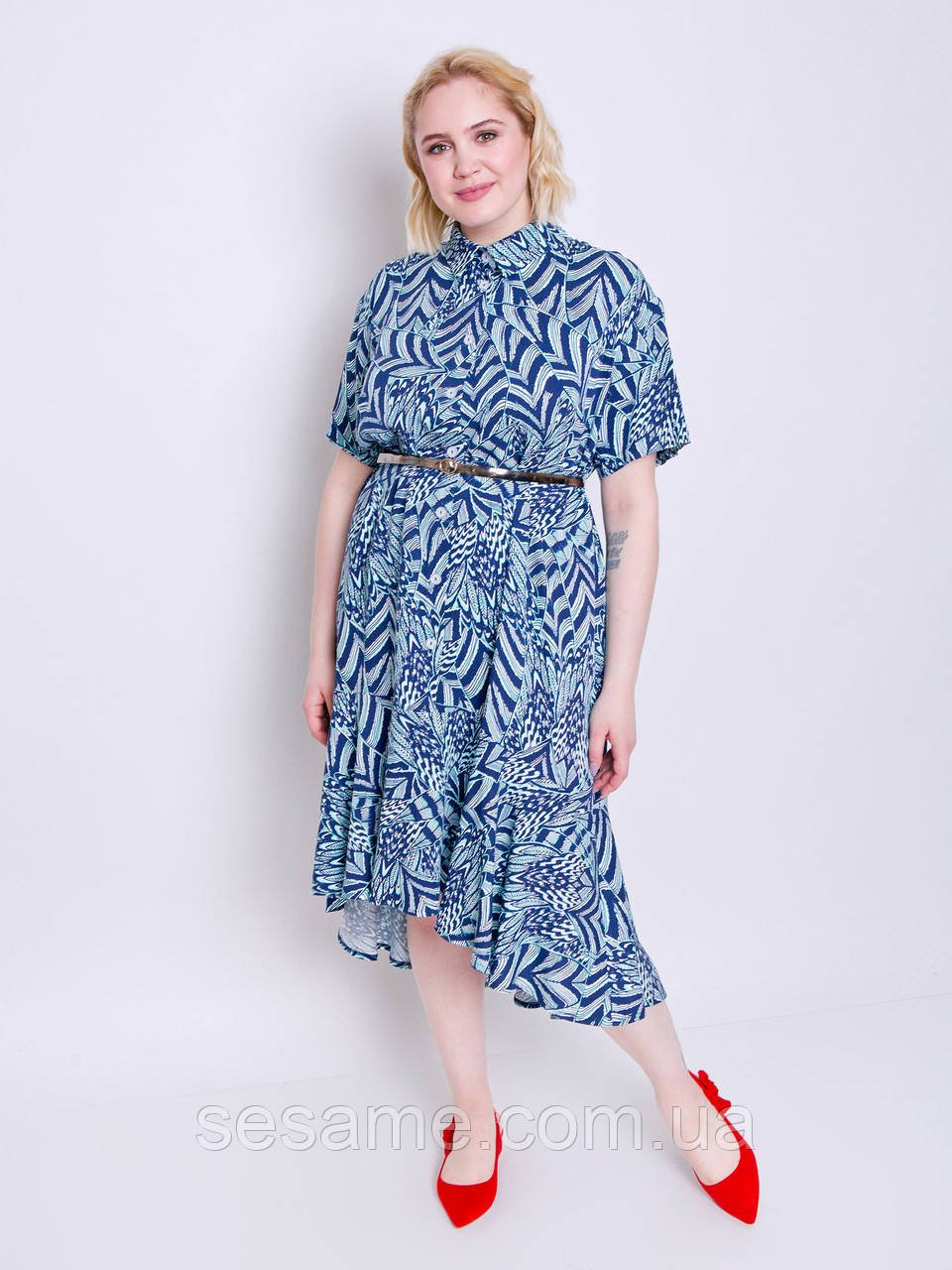 grand ua Мэделин принт платье