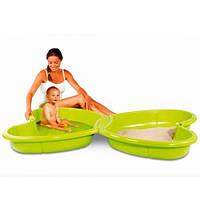 Smoby Детская песочница-бассейн с подводом для воды