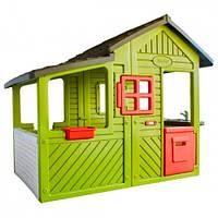 Smoby Детский игровой дом с кухней-барбекю и звонком