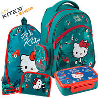 ead4d63de7c1 Рюкзак школьный Kite Education Hello Kitty HK19-521S Комплект 4 в 1.