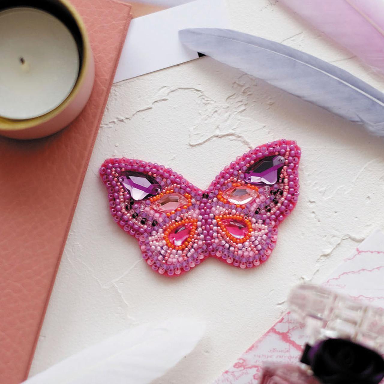 Набор для вышивки украшения Пурпур
