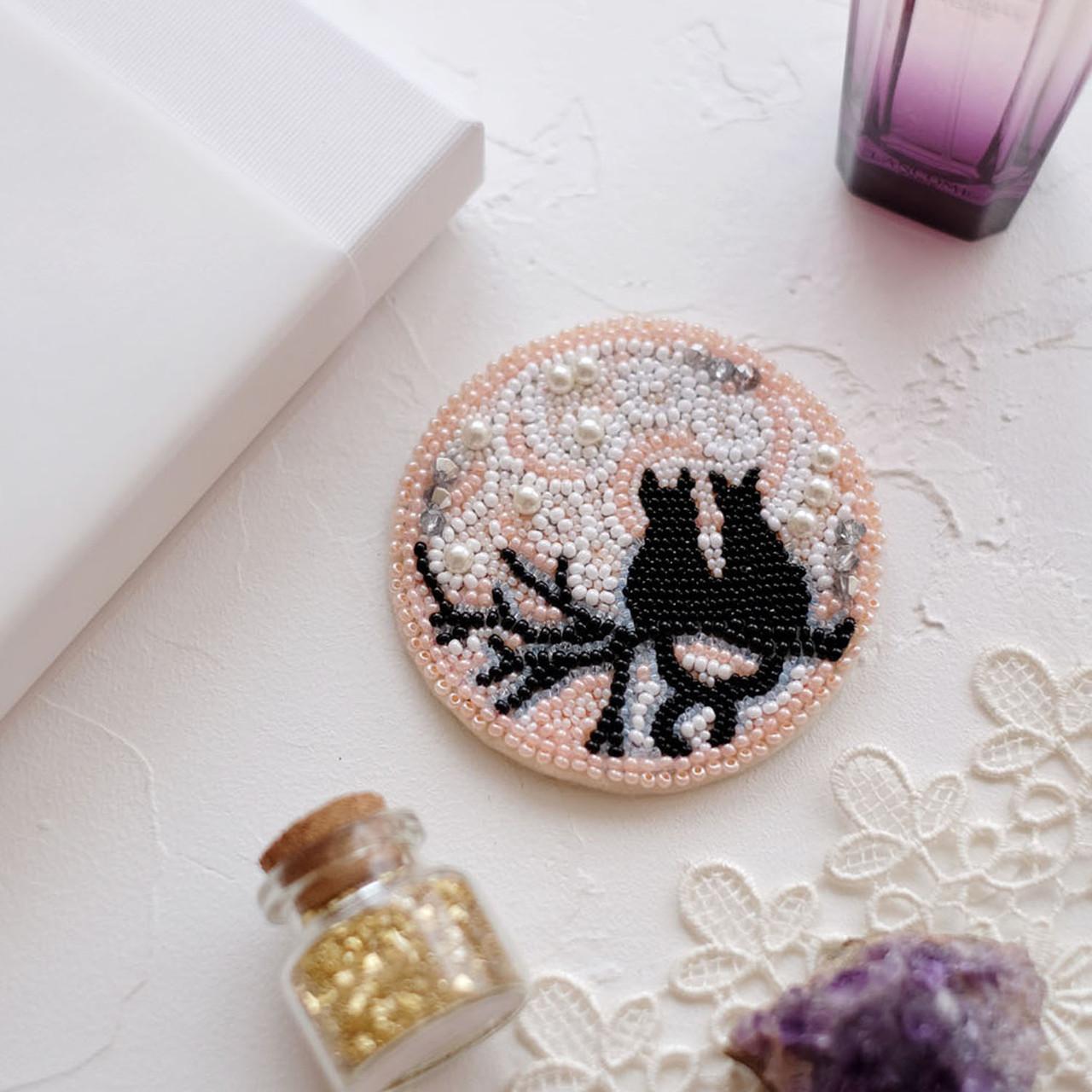Набор для вышивки украшения Лунное свидание