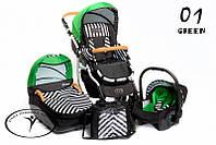 Детская универсальная коляска 2 в 1 DPG Carino New