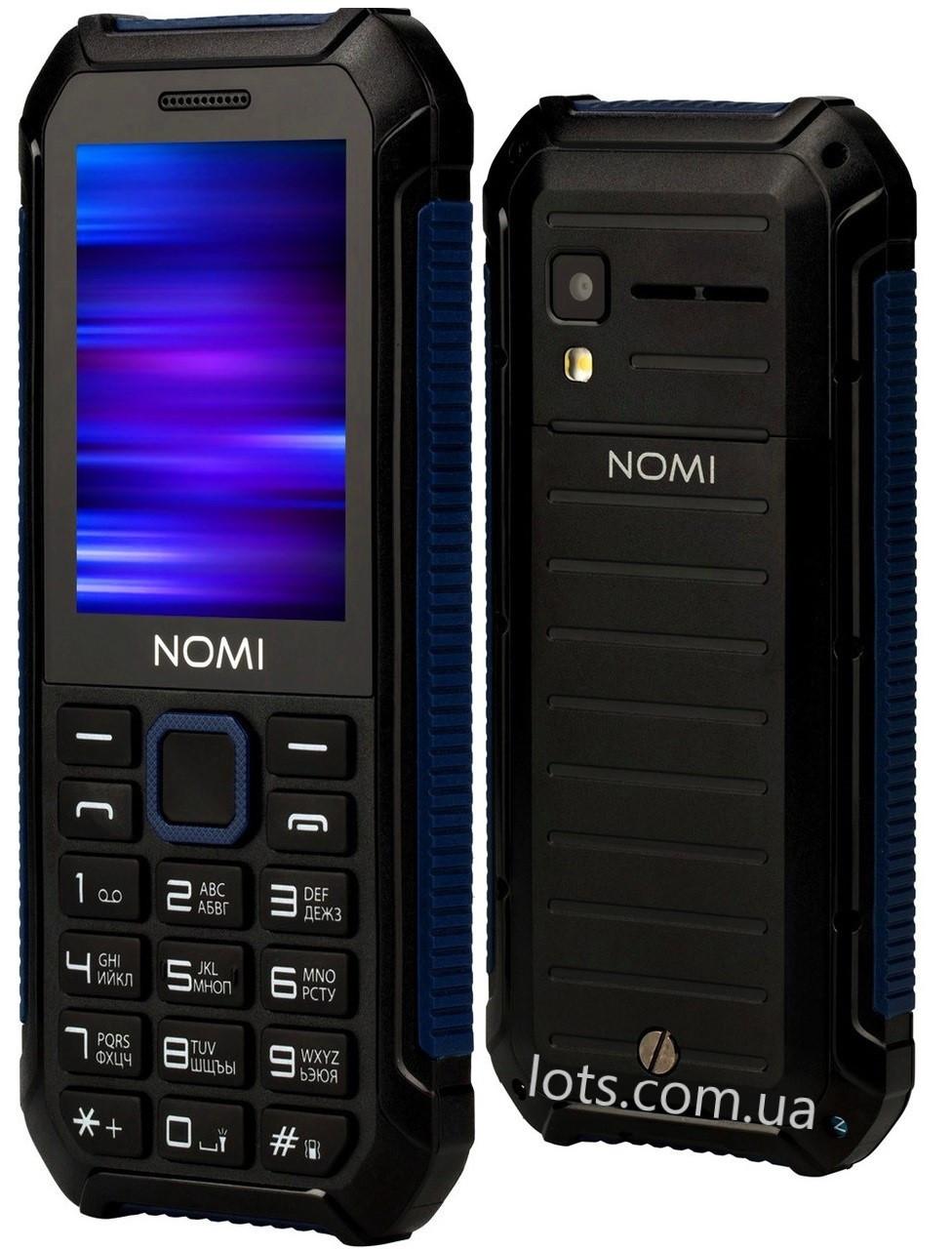Противоударный Телефон Nomi i245 Blue