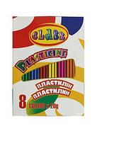 Пластилiн 8 кольорів 160гр. Class арт. 7622 ш.к.8591662762204