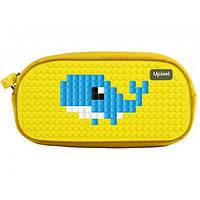 Пенал Upixel Dreamer-Желтый Пиксели 19*8*5,5см WY-B016G