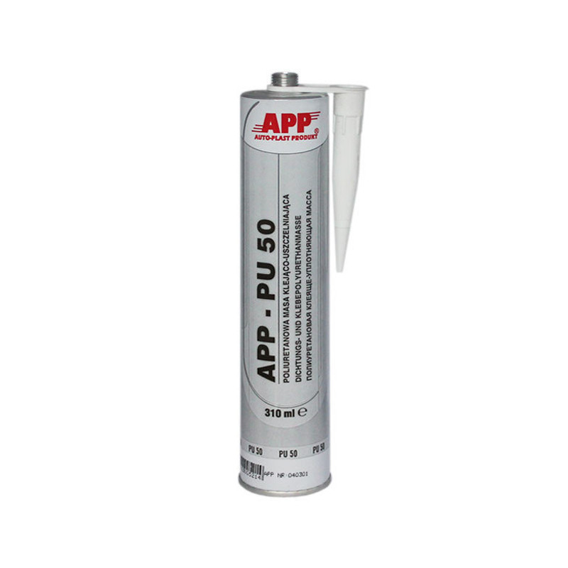 Герметик APP PU-50 полиуретановый черный 310мл.