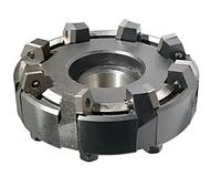 Фреза торцевая насадная 125х55х40 z=10 с механическим креплением 4-гр пластин из металлокерамики