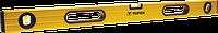 Уровень 29C602 Topex алюминиевый, тип 600, 60 см, 3 глазка
