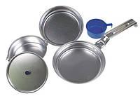 Набор посуды аллюминиевой De Lux, 5 предметов