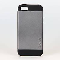 Чехол Spigen SGP Neo Hybrid space gray пластиковый для iphone 5/5s