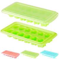 Форма для льда с крышкой пластик 26*11см J00131 (160шт)