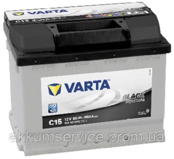 Акумулятор автомобільний VARTA BLACK DYNAMIC 56AH L+ 480A (С15)