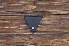 Монетница кожаная ручной работы VOILE cn1-blu, фото 3