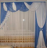 Ламбрекен со шторами заказать недорого, фото 1