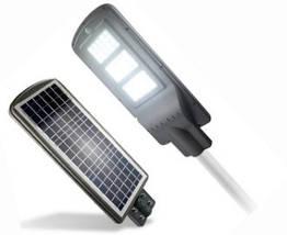 Led светильник 90W на солнечной батарее с пультом и датчиком движения. Светодиодный фонарь на столб, фото 3