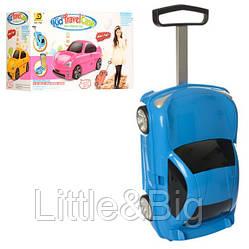 Детский чемодан-машина ГОЛУБОЙарт. 1211