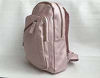 Рюкзак розовый молодежный из экокожи женский вместительный для девушек Pretty Woman Одесса, фото 1