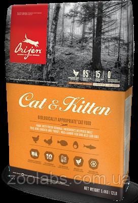 Сухой корм Orijen для кошек и котят   Orijen Cat & Kitten 1,8 кг, фото 2